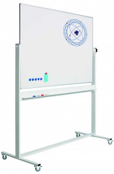 Drehtafel 100 x 150 cm - Whiteboard