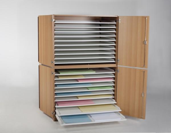 Papierschrank Planschrank 100 x 70 Format 20 Züge