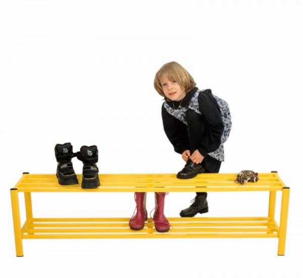 Schuhregal für hohe Schuhe - Breite 150 cm