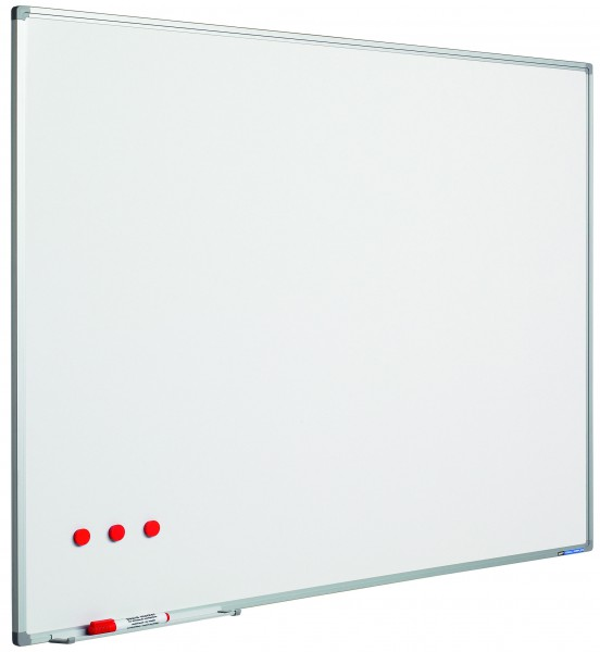 Whiteboard stahlemailliert 90 x 180 cm