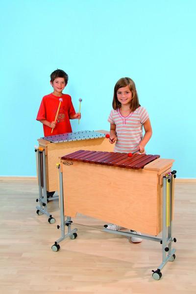 Ständer für Xylophone und Metallophone