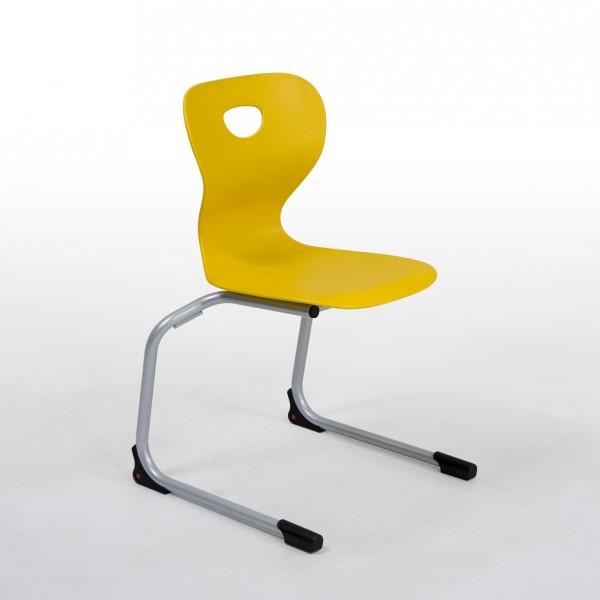 Freischwingerstuhl 54000 - Sitzhöhe 42 cm