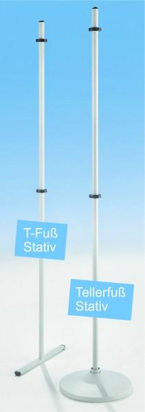 LB T-Fuß Stativ für Einhängetafeln mit 6-stelliger Artikelnummer