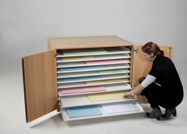 Papierschrank Planschrank 100 x 70 Format