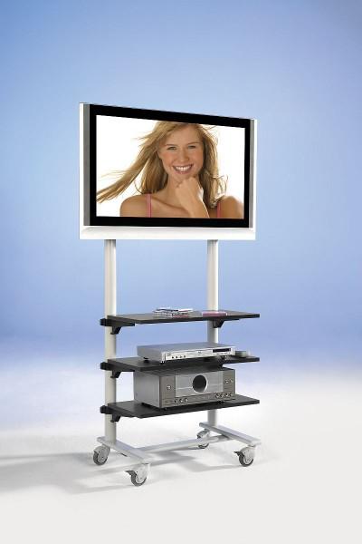 ScreenCart Fernsehwagen offen